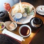 松月   - 天麩羅御膳【昼】(税込)1296円【夜】(税込)1620円