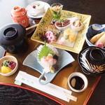 松月   - 月替わり御膳【昼】(税込)1620円