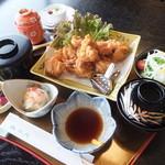 松月   - 鶏唐揚げ御膳(税込)1620円