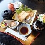 松月   - とんかつ御膳(税込)1620円