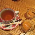 秋葉原アンチョビ - 紅茶と果汁ゼリー