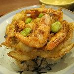 昭和亭食堂 - 大きなエビバリバリ