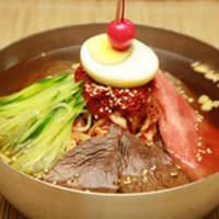 千里香 - 冷麺も絶品です。