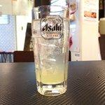 古武士 - <'16/03/13撮影>飲み放題(40分) 300円 のシークワーサーサワー