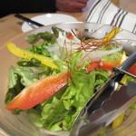 グリルSumitoko - 2品目は季節のグリーンサラダです。