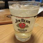 グリルSumitoko - 飲み放題だったんで乾杯のビールの後はハイボールにさせていただきました