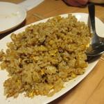グリルSumitoko - 御飯は白御飯も選べましたが私達はガーリックライスにして貰いました。