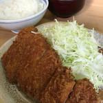 とんかつ いもや 二丁目店  - とんかつ いもや 二丁目店(東京都千代田区神田)とんかつ定食