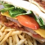 48724152 - B.L.T&チーズサンドウィッチ