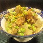 綾鷹  - 牛筋の味噌煮