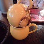 中国茶館 - 凍頂烏龍茶♪こんな風に淹れるんですね~。