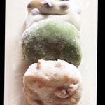 伊井餅 - 料理写真:くるみ餅がめっちゃ美味しかった❤︎