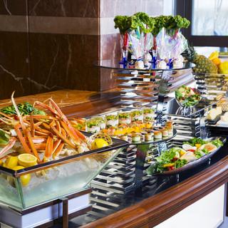◆握り寿司も含む◆和洋中のお料理全40品が90分食べ放題