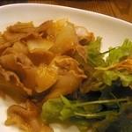 テンダーフィーリング - 豚の生姜焼き(なごみランチ)