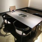 和牛処竜壱 - 個室のテーブル席♪