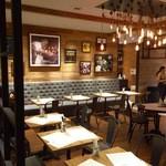 BLU JAM CAFE - LA styleのインダストリアルな内装