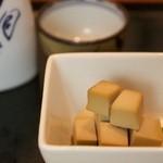 チーズのほたる醤油漬け