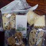 クードクール - 料理写真:ガトーショコラ、レーズンサンド、クッキーなど