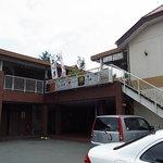 鰻のひろ田 - 2010/8月:そこらのドライブインみたいな建物の2階が当店