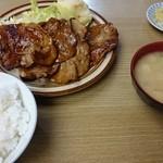 和か奈食堂 - 生姜焼き定食