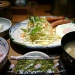 48741726 - 目玉焼朝食