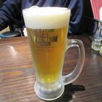 釘本食堂 - 2次回だけど取りあえずビールで乾杯