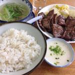 味の牛たん 喜助 - 牛たん炭火焼き1.5人前定食 2,068円