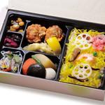 三宿 月暈 - 昔ながらのちらし寿司弁当 ※要予約