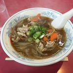 北国ラーメン - 料理写真:肉ラーメン\700