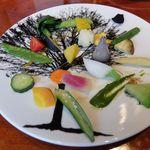 48746131 - 鎌倉野菜を中心に取り揃えた季節野菜の盛り合わせ