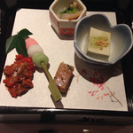 和旬楽 - 前菜の彩どり5種盛り