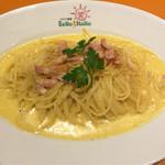 イタリア厨房 ベッラ・イタリア - ベーコンたくさんのカルボナーラ