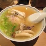 万葉 - 地魚の味噌汁。500円税抜