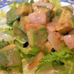 アンジュール - アボカドとホタテ貝のサラダ¥945