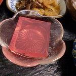ひばり茶屋 - 小鉢 ゼリー