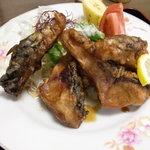 ひばり茶屋 - 主菜の皿