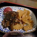 ひばり茶屋 - 小鉢 漬物