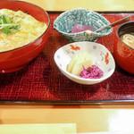 鳥茶屋 - 親子丼セット