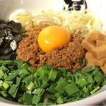 麺や マルショウ 江坂店 - 台湾混ぜそばの大盛り880円