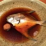 魚匠 銀平 - 水としょう油の煮魚