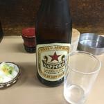 48751985 - 瓶ビール580円