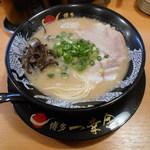 博多一幸舎 - ラーメン ¥750