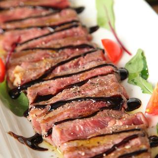 1日5組限定!50日間熟成牛&石釜ピザのディナーコース!