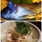 天空飲茶酒家 - 鮮魚の姿蒸し&ジャスミンライス