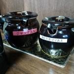 博多麺番長 - 卓上