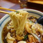 三宝亭 - 中華麺としてはやや弱いか