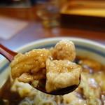 三宝亭 - かたくりをまぶしてから炒めています、この方が中華らしい♪