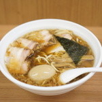 甲斐 - 料理写真:揚げねぎ味玉チャーシュー麺