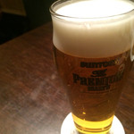 チャイナムーン - 生ビール(プレミアムモルツ)