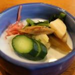 川魚料理 魚庄 - 香の物